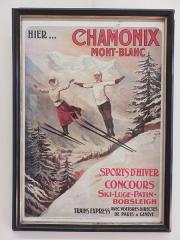 Petit Palais de Conflans - Français:   Musée d\'art et d\'histoire de Conflans: affiche publicitaire du XXe seicle