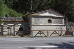 Forts de l'Esseillon : Fort Charles-Félix -  Corps de garde de l'Esseillon, Forts de l'Esseillon (Savoie - France)