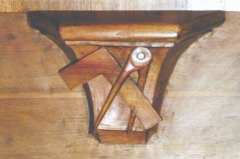 Cathédrale Saint-Jean - English: Misericord from church, of ST Jean de Maurienne (73) FRANCE
