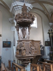 Eglise de Conflans - Français:   Église Saint-Grat (Conflans)
