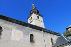 Eglise de Conflans - Français:   Clocher de l\'église Saint-Grat (Conflans)