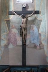 Eglise de Conflans - Français:   Crucifix dans l\'église Saint-Grat (Conflans)