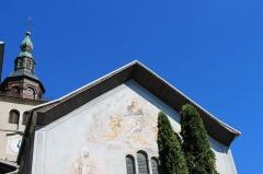 Eglise de Conflans - Français:   Façade de l\'église Saint-Grat (Conflans)