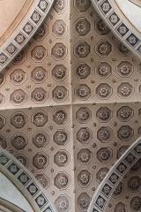 Eglise de Conflans - Français:   Détail du plafond de l\'église Saint-Grat (Conflans)