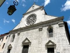 Cathédrale - Français:   Façade de la cathédrale Saint-Pierre d\'Annecy  juillet 2008  Emmanuel BRUNNER (manu25)