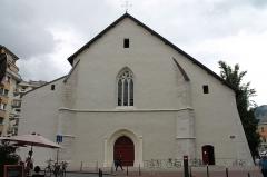 Eglise Saint-Maurice - Français:   Portail d\'entrée de l\'église Saint-Maurice d\'Annecy