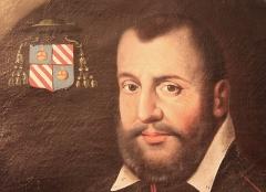 Château - Français:   Détail du portrait de Gallois de Regard, dans le château de Clermont (Haute-Savoie).
