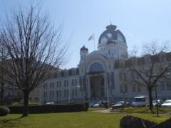 Ancien établissement thermal - Português: Palácio Lumière - Exposições - Évian-les-Bains - França