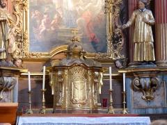 Eglise Saint-Nicolas-de-Véroce - Tabernacle dans l'église Saint-Nicolas-de-Véroce située à Saint-Gervais-les-Bains, Haute-Savoie, France.