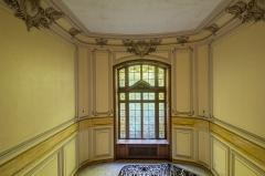 Ancien château Burrus -  Au premier étage du manoir