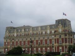 Hôtel du Palais - Français:   Hôtel du Palais à Biarritz, ancienne villa Eugénie.