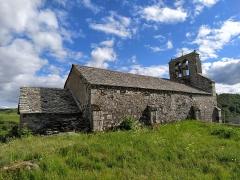 Eglise Saint-Roch de Fortuniès -  église Saint Roch (arrière)