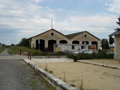 Ligne à voie ferrée métrique le Blanc-Argent (ou B.A.) sur le tronçon Luçay-le-Malé-Argy - Français:   Gare du Blanc (36): L\'ancien dépôt des locomotives.