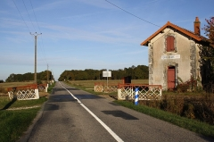 Gare - Deutsch: Haltepunkt Terre-Neuve des Chemin de Fer du Blanc-Argent