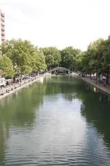Canal Saint-Martin - Français:   Passerelle des Douanes, Canal Saint-Martin, Paris