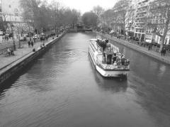Canal Saint-Martin - English:   Canal Saint Martin