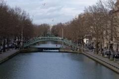 Canal Saint-Martin - English:   Canal Saint-Martin