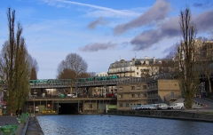 Canal Saint-Martin -  Canal Saint-Martin, Paris