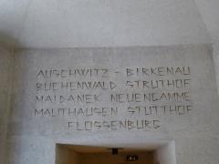 Mémorial des martyrs de la Déportation - English: Mémorial des Martyrs de la Déportation, Paris, France, April 2018
