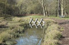 Propriété Caillebotte - Deutsch: Parc Caillebotte in Yerres im Département Essonne (Île-de-France/Frankreich)