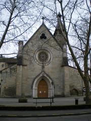 Eglise des Carmes ou église Saint-Thomas-Becket - English: Saint-Thomas' church, Figeac, France