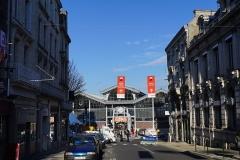 Halle - Français:   rue de l\'arsenal lors du 44e festival international de la Bande Dessinée.