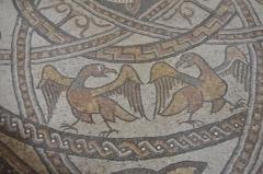 Ancienne abbaye Saint-Jean - Français:   Détail de la mosaïque du chœur de l\'Abbaye de Sorde l\'Abbaye - Landes - France