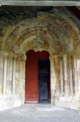 Ancienne abbaye Saint-Jean - Français:   Sorde l\'Abbaye - Église, entrée nord