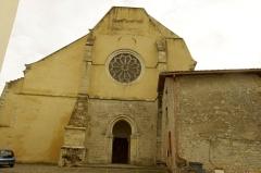 Ancienne abbaye Saint-Jean - Français:   Sorde l\'Abbaye - Église, entrée ouest