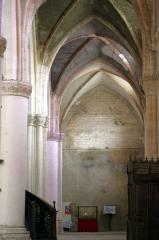 Ancienne abbaye Saint-Jean - Français:   Sorde l\'Abbaye - Église, nef colatéral nord en regardant vers l\'entrée ouest.