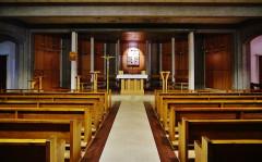 Basilique Notre-Dame de la Trinité - Deutsch: Krypta der Basilika Unserer Lieben Frau der Dreifaltigkeit, Blois, Département Loir-et-Cher, Region Zentrum-Loiretal, Frankreich