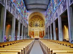 Basilique Notre-Dame de la Trinité - Deutsch: Langhaus der Basilika Unserer Lieben Frau der Dreifaltigkeit, Blois, Département Loir-et-Cher, Region Zentrum-Loiretal, Frankreich