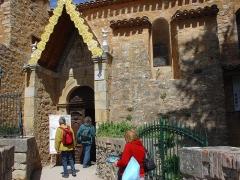 Eglise Sainte-Marie-Madeleine -  verso la chiesa