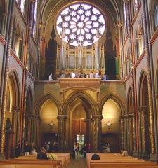 Eglise du Gésu - English: Church of Gesu, Toulouse (France), nave 19th century