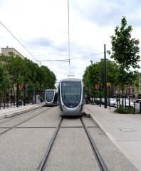 Palais de Justice -  Tramway de Toulouse - Lo tramvai a Tolosa - Straßenbahn in Toulouse