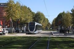 Palais de Justice - Deutsch: Straßenbahn Toulouse, Haltestelle Palais de Justice