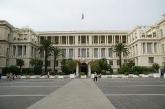 Palais de la Préfecture, ancien palais des rois de Sardaigne - English: Front of