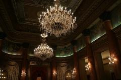 Palais de la Préfecture, ancien palais des rois de Sardaigne - Français:   plafond de la salle des fêtes du palais des ducs de Savoie, Nice
