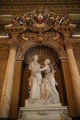 Palais de la Préfecture, ancien palais des rois de Sardaigne - Français:   statue dans la salle des fêtes du palais des ducs de Savoie, Nice, France