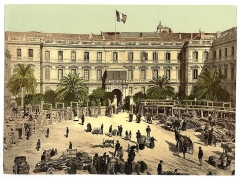 Palais de la Préfecture, ancien palais des rois de Sardaigne -  Palais de la Préfecture, Nice, France (Riviera)