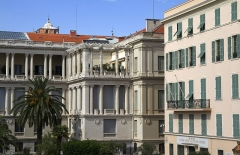 Palais de la Préfecture, ancien palais des rois de Sardaigne -  Vieille Ville, Nice, Provence-Alpes-Côte d'Azur, France