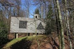 Ermitage de Saint-Rouin, puis chapelle de pèlerinage - Français:   La chapelle
