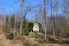 Ermitage de Saint-Rouin, puis chapelle de pèlerinage - Français:   Le retable de l\'Assomption