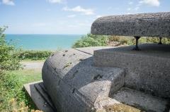 Batterie d'artillerie de Longues - English:   A bunker in Longues-sur-Mer.