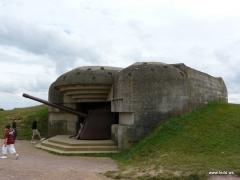 Batterie d'artillerie de Longues -  Canhão alemão