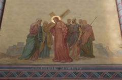 Eglise Saint-Didier -  Vue de l\'intérieur de l\'église Saint-Didier de Voreppe (Voreppe, Isère, France)