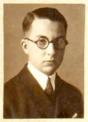Ecole normale supérieure -  Paul Nizan, photo d'identité auteur inconnu. Trombinoscope 1924 de l'École normale supérieure (rue d'Ulm, Paris, 5è arrond.) - Fonds photographiques, PHO D/2/1924/1.