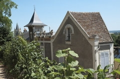 Maison de Maurice Ravel, actuellement musée - Deutsch:   Musée Maurice Ravel in Montfort-l'Amaury im Département Yvelines (Region Île-de-France/Frankreich)