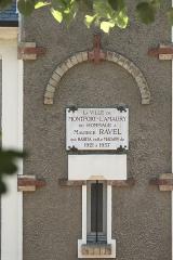 Maison de Maurice Ravel, actuellement musée - Deutsch:   Château de Montfort in Montfort-l'Amaury im Département Yvelines (Region Île-de-France/Frankreich)