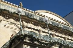 Théâtre du Gymnase - Deutsch:   Théâtre du Gymnase Marie Bell am Boulevard Bonne-Nouvelle Nr. 38 im 10. Arrondissement in Paris
